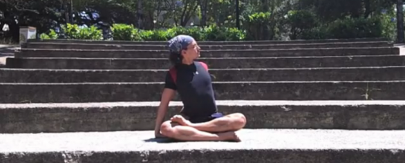 Relax Hero: Yoga Sequence for Shoulder, Upper Back and Neck Pain