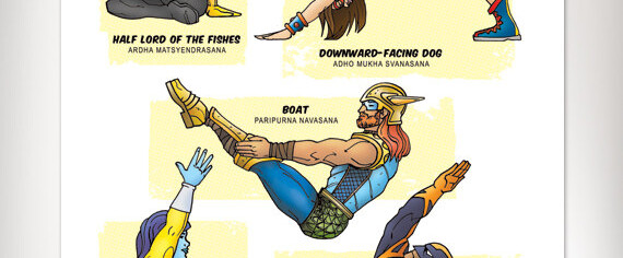 Superhero Yoga: Evolving the Next Generation of Awesome