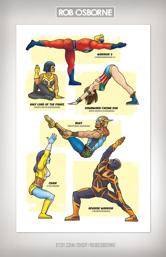 Superhero Yoga Training The Next Generation Of Awesome